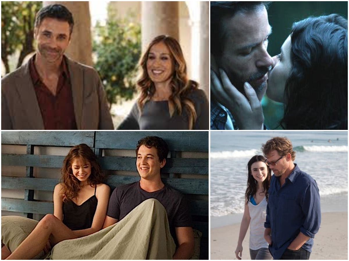 Romantic movies from PVR, Stuck in Love , Breathe In, Two Night Stand , All roads lead to Rome