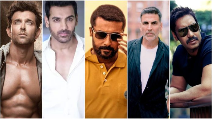 Who from Ajay Devgn, John Abraham, Akshay Kumar and Hrithik Roshan could play Suriya's role in Soorarai Pottru remake?