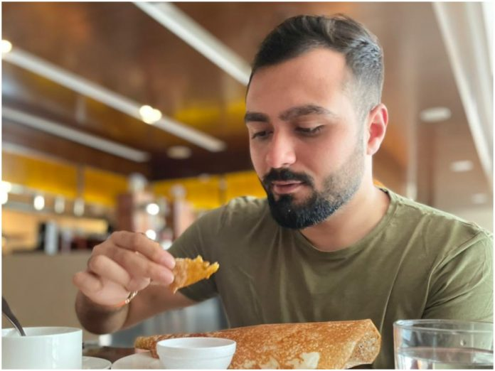 """For jewellery and diamond entrepreneur Sneh Binny, """"food is bae"""". His relationship with food is as good and special as his relationship with his wife."""