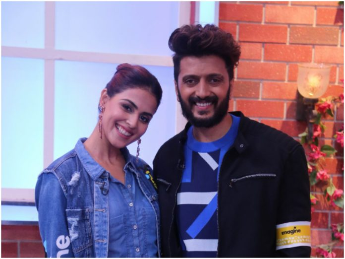 Riteish and Genelia Deshmukh will be seen as the special guests on Zee Comedy Show this weekend