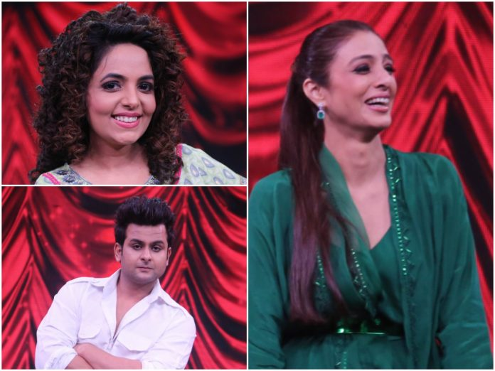 Tabu left in splits on Zee Comedy Show as Dr Sanket Bhosale and Sugandha Mishra Bhosle mimicked Sanjay Dutt and Kangana Ranaut