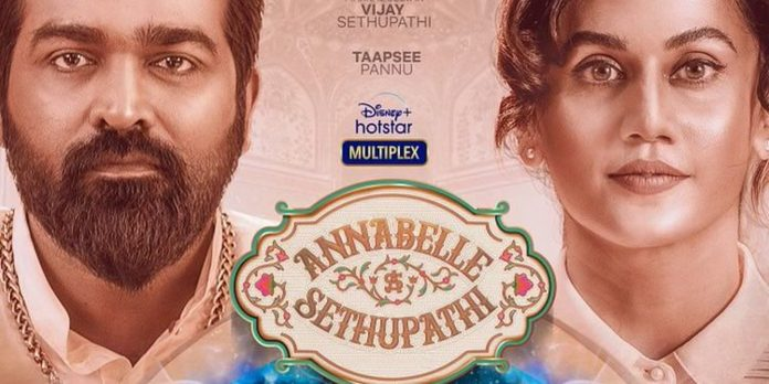 Power House Actors Vijay Sethupathi and Taapsee Pannu come together for Disney+ Hotstar's big-ticket multi-lingual Fantasy-comedy Annabelle Sethupathi, premiering on 17th September