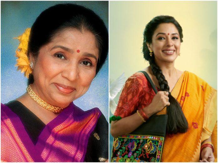 Asha Bhosle and Rupali Ganguli